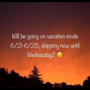 Accessories - Vaca mode starts Thursday, 6/21!